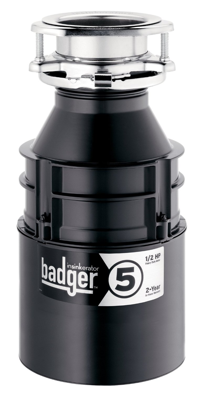 Insinkerator Badger 5 Side Profile