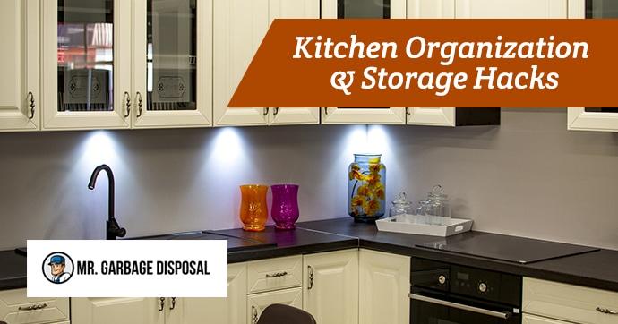 Kitchen Organization & Storage Hacks