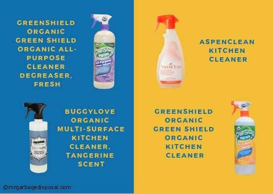features and uses of different cleaning products