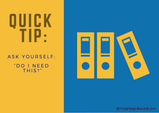 quick tip  to declutter your kitchen