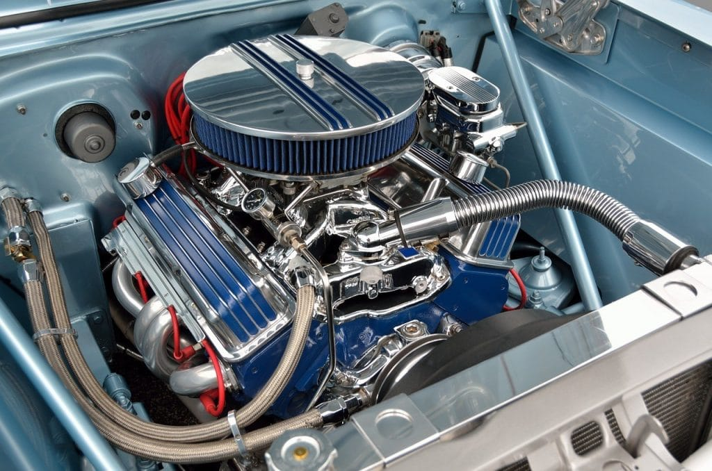 stainless cover engine